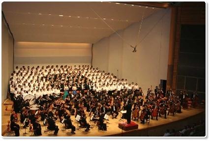 「権兵衛トンネル開通記念第九演奏会」の模様(2006.6.18)